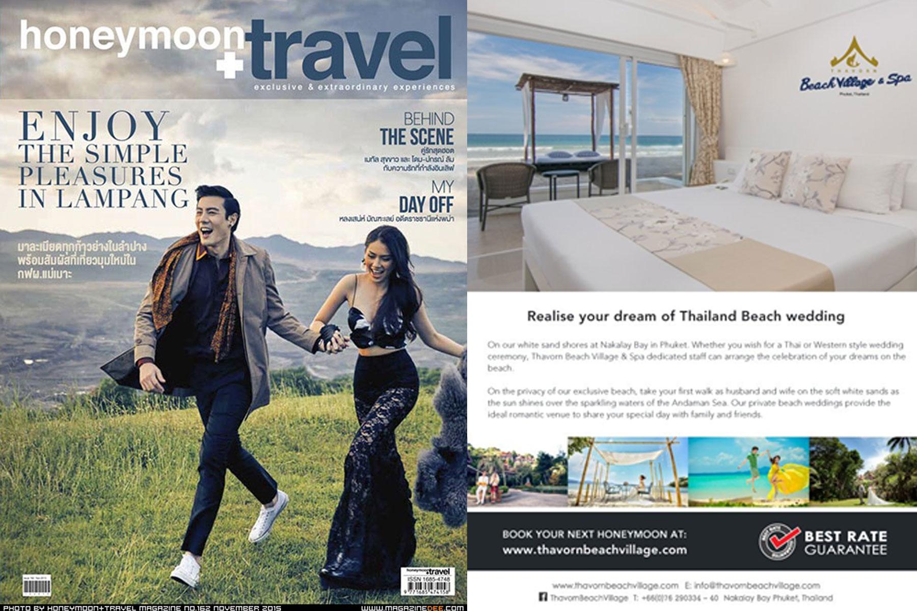 Thailand Dream Beach Wedding   Honeymoon Travel
