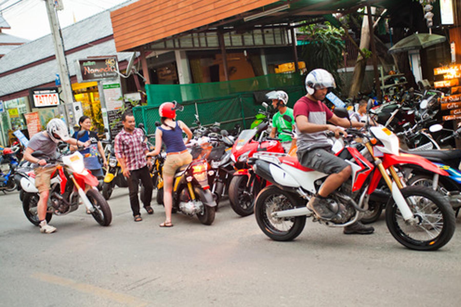 Moo Dang Phuket Motorbike Rental Thavorn Beach Village