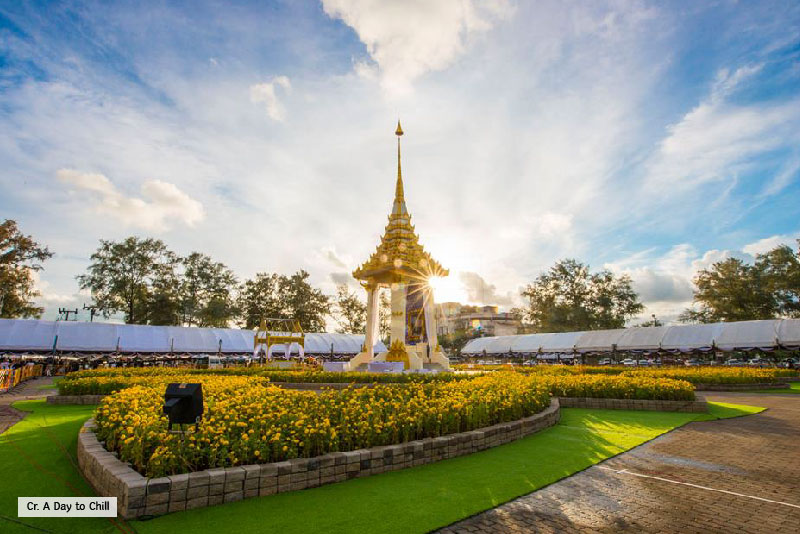 Phuket replicas of the Royal Crematorium