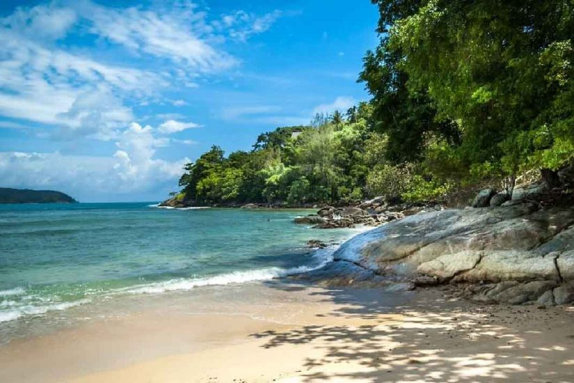 Private Nakalay Beach, Phuket Kamala