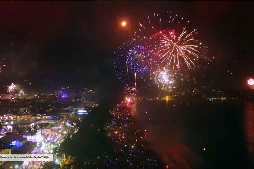 Phuket New Year Countdown 2018