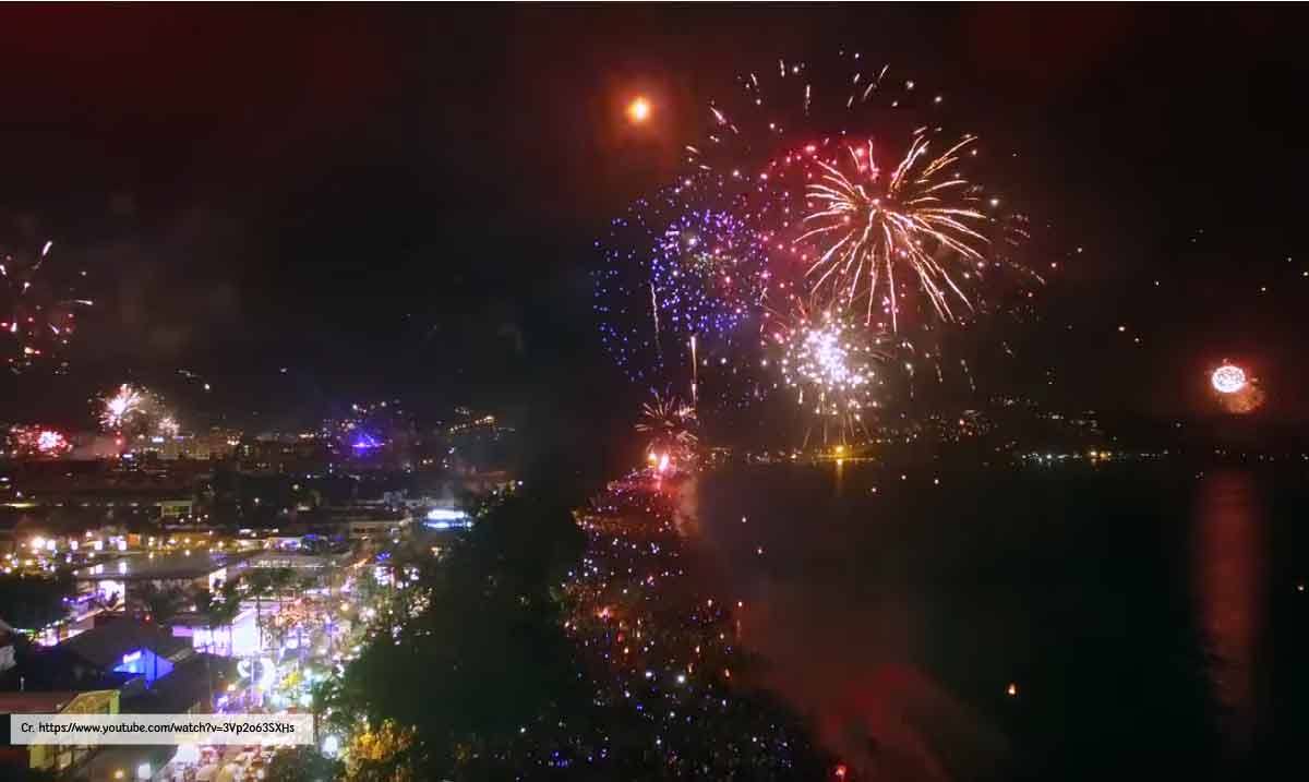 Phuket New Year Countdown 2018