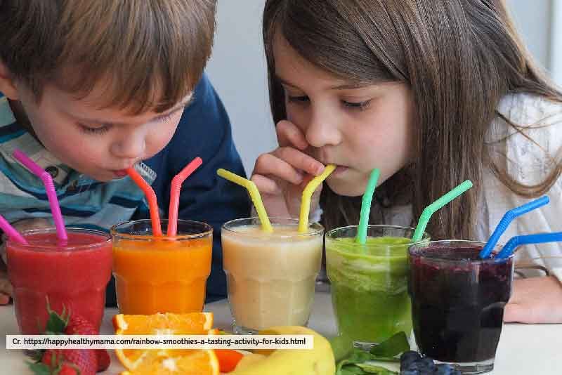 Kids Love Smoothies