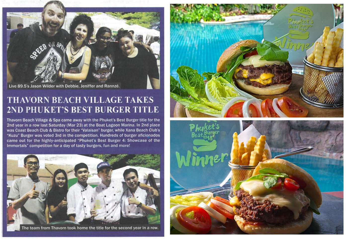Phuket's best burger 2018