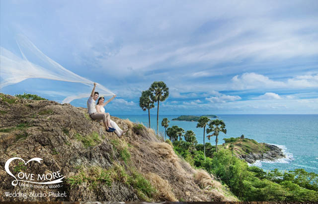 pre wedding, Phuket, beach, Thai,Temple,Old Town