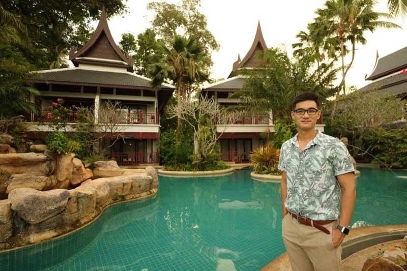 Lert Thavornwongwongse, Thavorn Hotel Phuket,AmarinTV